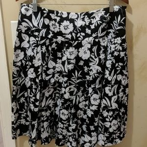 Floral Chaps skirt